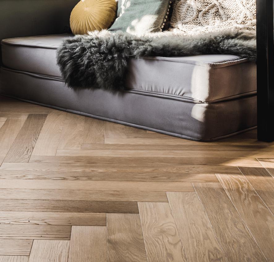 houten vloer vloerverwarming