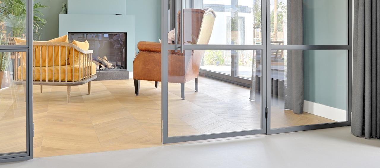 Eiken houten vloer