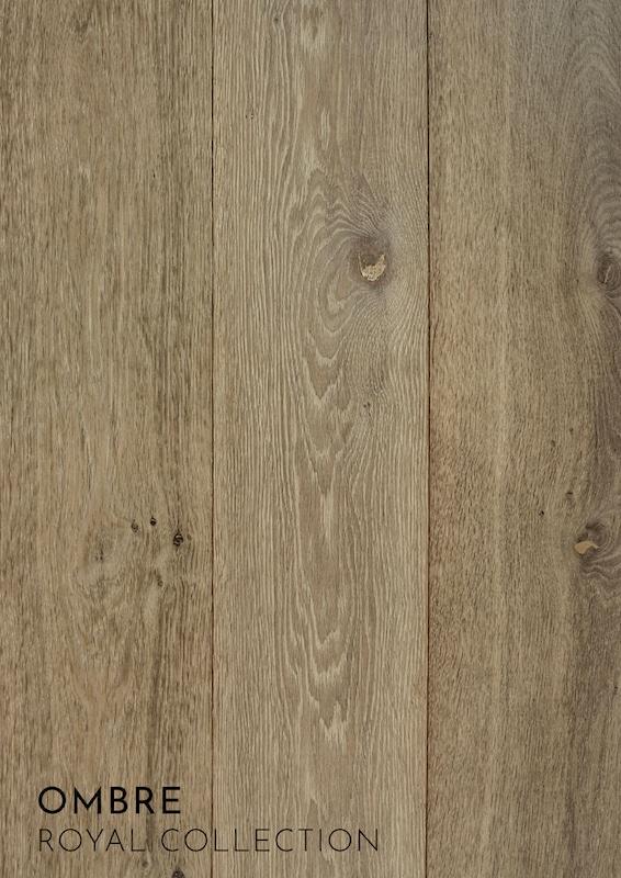 middenbruine houten vloer